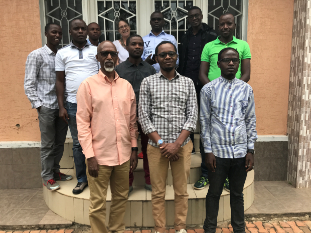 ArcGIS Trainings for the Central African Region: Participants in August 2017