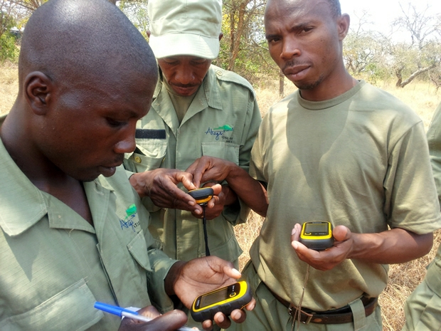 GPS and GIS Training in the Akagera National Park