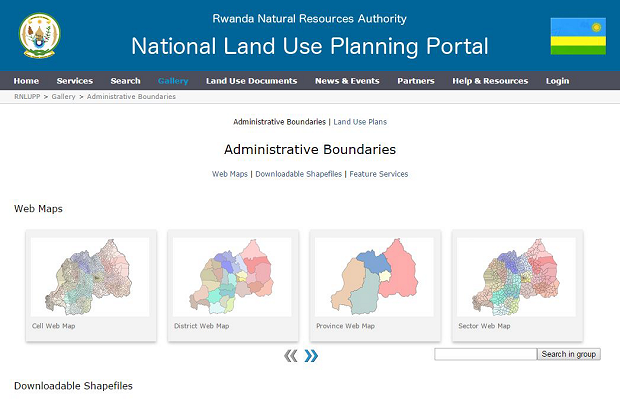 National Land Use Planning Portal